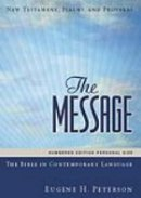 Message New Testament Numbered Edition: Hardback