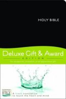 CEB Deluxe Gift And Award Bible Imitation Leather Black