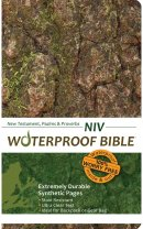 NIV Waterproof Bible: Camo, New Testament, Psalms & Proverbs