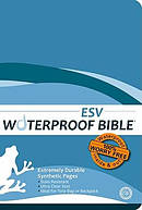 ESV Waterproof Bible: Blue Wave, Paperback