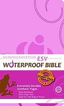 ESV Waterproof New Testament: Pink & Brown, Paperback