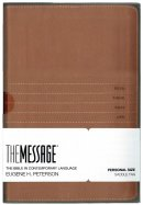 The Message Personal Size Tan Imitation Leather
