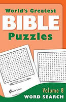 World's Greatest Bible Puzzles--volume 8 (word Search)