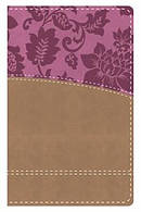 KJV Study Bible Women's Edition Indexed Tan Pink Imitation Leather