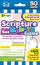 Scripture Memory Game Cards (50)