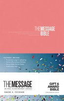 The Message Gift and Award Bible Pink
