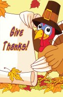 Give Thanks! (Pack Of 25)