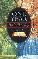One Year Bible Reading Plan (Pack Of 25)