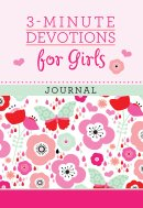 3-Minute Devotions for Girls Journal