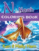 N is for Noah Colouring Book