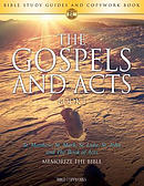 The Gospels and Acts BOOK 1: Bible Study Guides and Copywork Book  - (St. Matthew, St. Mark, St. Luke, St. John and The Book of Acts) - Memorize the B