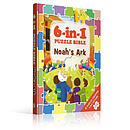 6-In-1 Puzzle Book Noah's Ark: 6 Puzzles Creating 1 Big Picture
