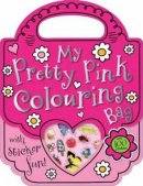 Col Stick My Pretty Pink Colouring Bag