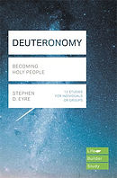 Lifebuilder Bible Study: Deuteronomy