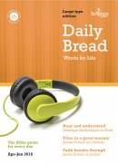 Daily Bread Large Print April June 2016