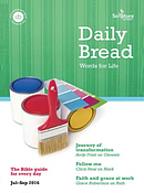 Daily Bread Large Print July-September 2016