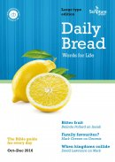Daily Bread Large Print October - December 2016