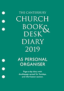 Canterbury Church Book & Desk Diary 2019 A5 Personal Organiser Edition