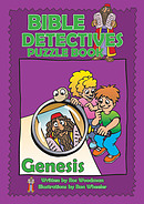 Bible Detectives Puzzle Book