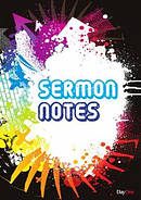 Sermon Notes Black Cover