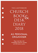 The Canterbury Church Book & Desk Diary 2018 A5 Personal Organiser Edition