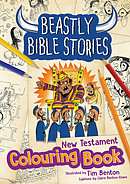 Beastly Bible Stories Colouring Book - New Testament