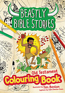 Beastly Bible Stories Colouring Book - Old Testament