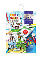 Colour, Make and Doodle Activity Pack - Nativity Scene