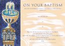 Traditional Baptism Certificate - Pack of 10