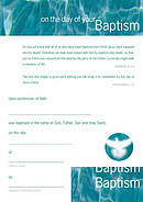 Adult Baptism Certificates - Pack of 10