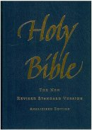 NRSV Pew Bible: Blue, Hardback Anglicised