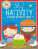 My Nativity Sticker Activity Book (with Over 250 Stickers)