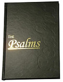 KJV The Psalms: Vinyl covered Hardback, Large print