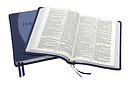 KJV Classic Original Concord Reference Bible: Blue stiched, Imitation leather