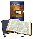 KJV Classic Original Concord Reference Bible: Blue, Imitation leather
