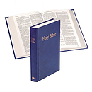 KJV Text Bible: Blue, Hardback