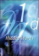Bible Word Search Book : Bk. 1. Hidden Words