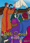 Bible Stories To Colour Book 4