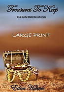 Treasures to Keep - Large Print: 365 Daily Bible Devotionals