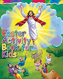 Easter Activity Book for Kids: The Story of Easter Bible Coloring Book with Dot to Dot, Maze, and Word Search Puzzles - (The Perfect Easter Basket Stu