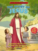 Story Of Jesus Static Sticker Book Pb