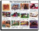10 Commandments NIV Wall Chart Laminated
