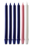 "Advent Candle Set (1"" Diameter)"