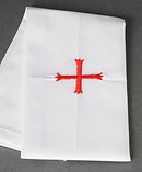 Red Cross Lavabo Towel