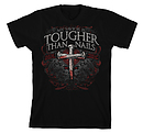 Tougher Than Nails 3 T Shirt: Black, Adult Medium