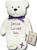 Jesus Loves Me Holy Bear