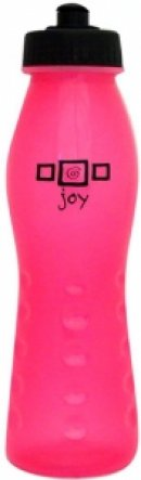 Sporty Plastic Water Bottle: Pink Joy