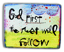 God First Magnet