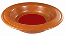 Offering Plate - Red - 12in diameter
