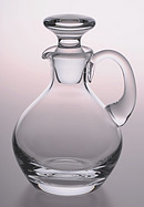 Plain Glass Crystal Cruet
